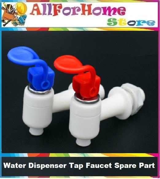 Kitchen Plastic Push Type Handle Water Dispenser Tap Faucet Spare Part