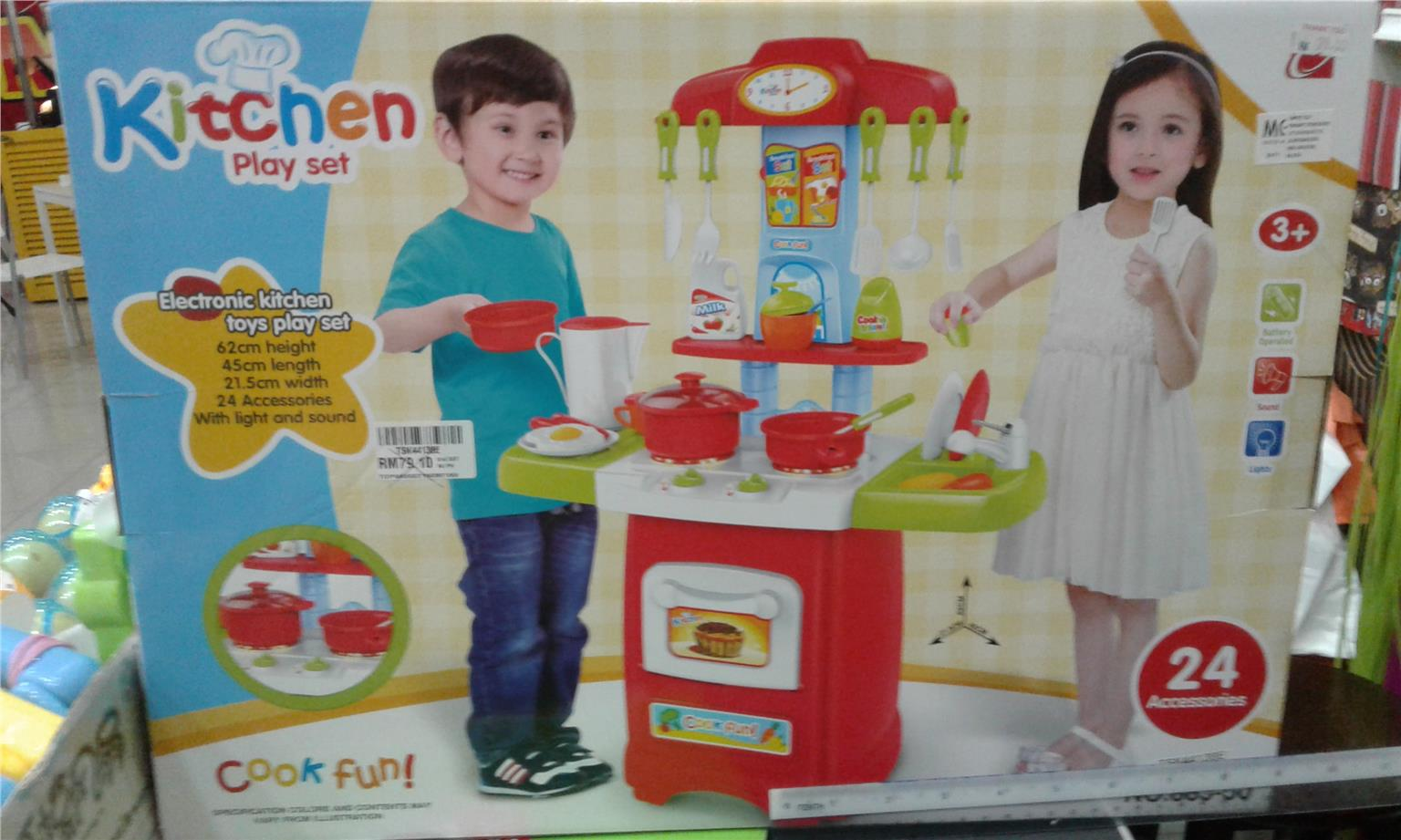 Kitchen Play Set for Kids
