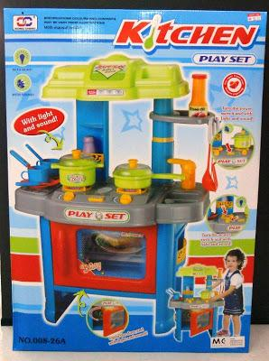 KITCHEN PLAYSET - TWIN STOVE WITH OVEN