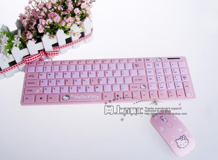 Hello Kitty Wireless Keyboard Hello Kitty Wireless Keyboard