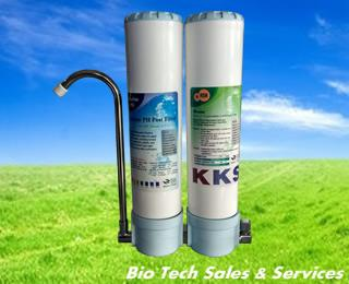 KKS Double Water Filtration System (PP Fibre + CTO)