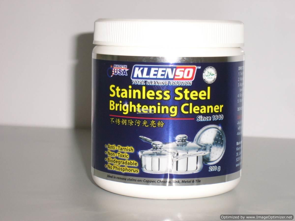 Kleenso Stainless Steel Brightening Cleaner 200G