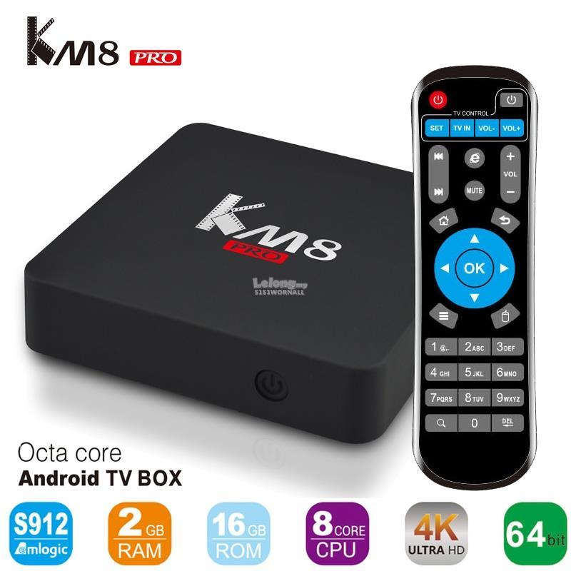 KM8 Pro S912 Android 6.0 TV BOX 2GB/16GB FREE AIR MOUSE
