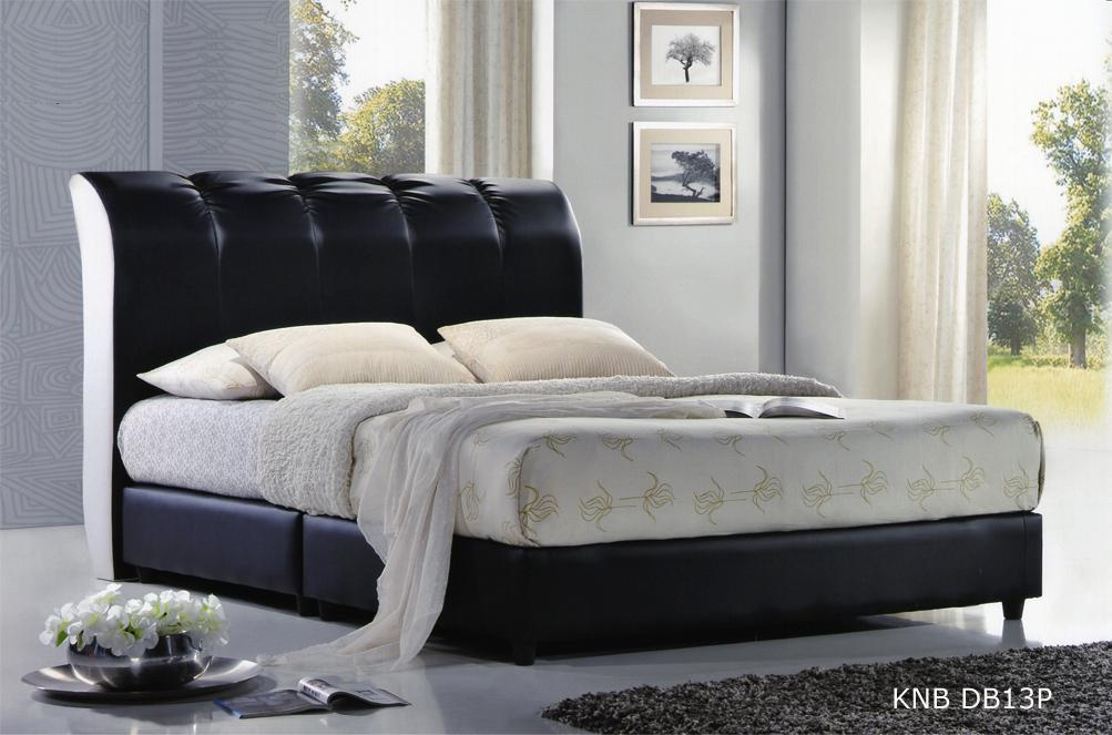 Knb db13p upholstered divan queen bed frame kuala lumpur for Divan bed frame sale