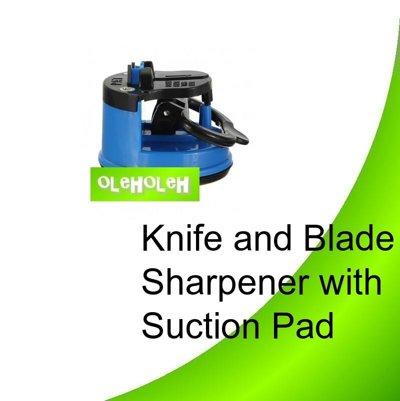 Knife and Blade Sharpener With Suction Pad