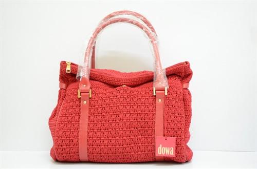 Knitted Handmade Dowa Riches Shopper Red Ruby Hand Bag Terengganu