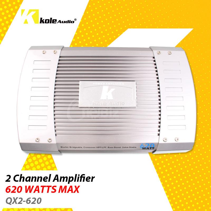 Kole Audio - 2 Channel Amplifier - QX2-620