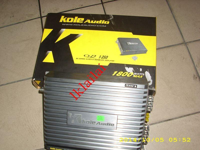 Kole Audio Monoblock Amplifier 1800W [QD 1-350]