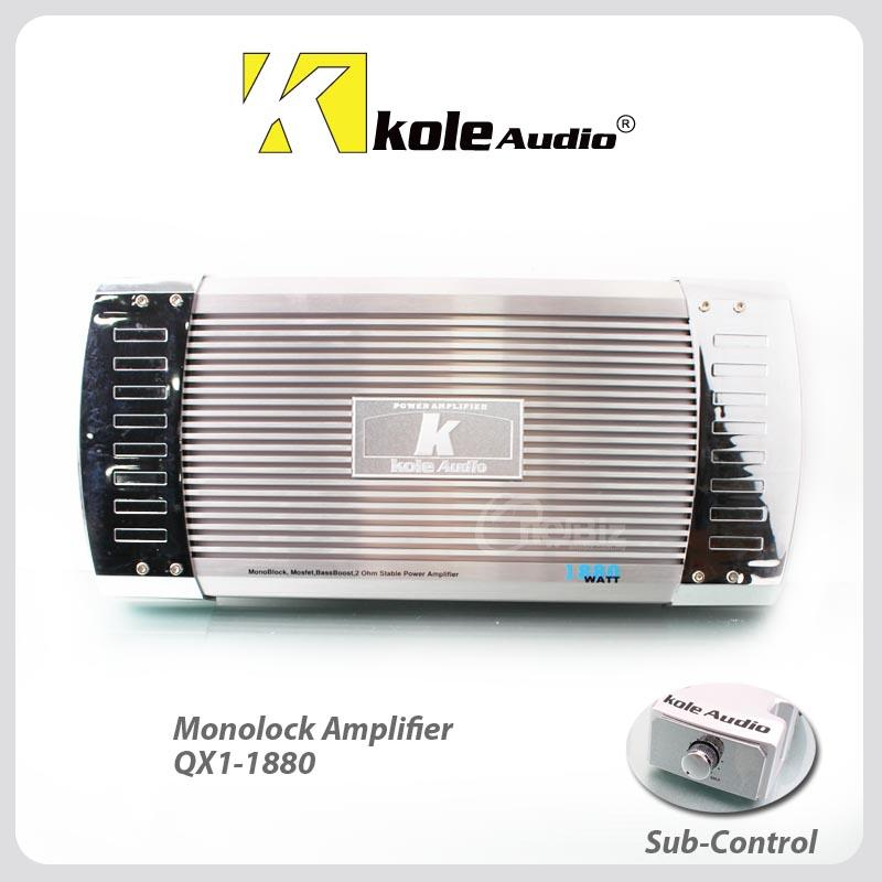 Kole Audio Monoblock Amplifier QX1-1880