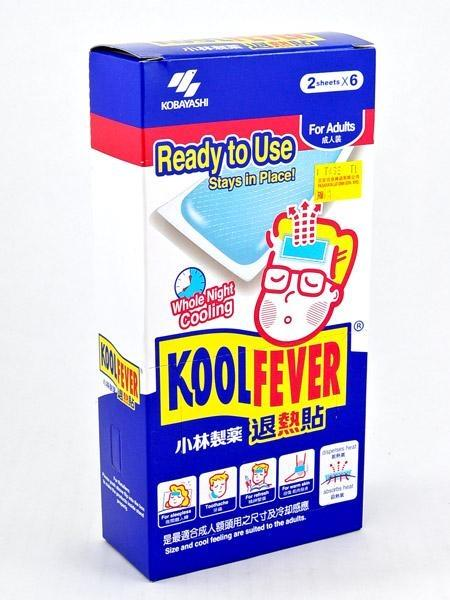 KOOL FEVER FOR ADULTS 12 SHEETS