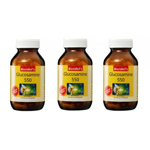 Kordel's Glucosamine 550 (3x90's) (Joint Relief)