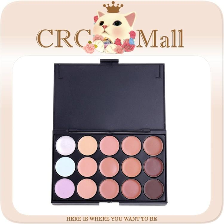 Korea 15 colors cream concealer makeup palette Branded OEM