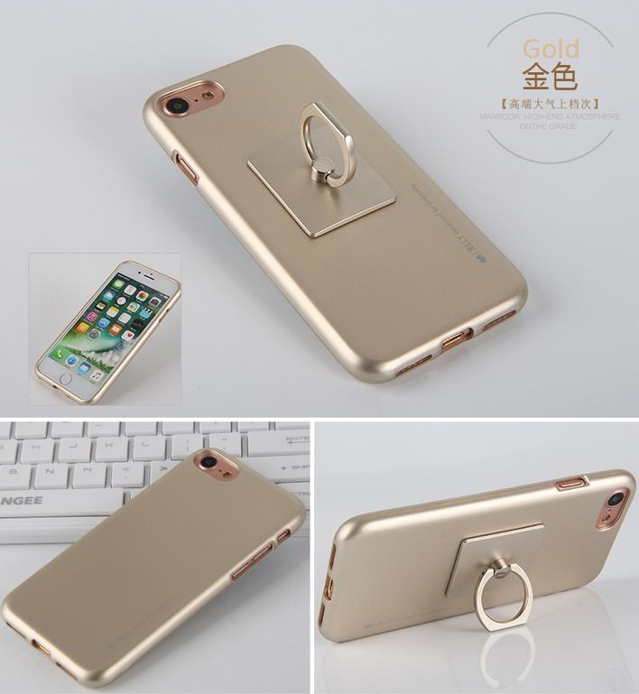 Korea Goospery I-Jelly Ring Soft Case for IPHONE 6/6S IPHONE 7