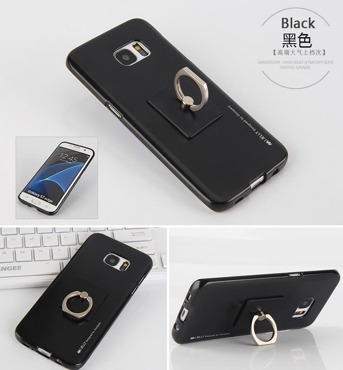 Korea Goospery I-Jelly Ring Soft Case for S6/S6 EDGE/S6 EDGE PLUS/S7