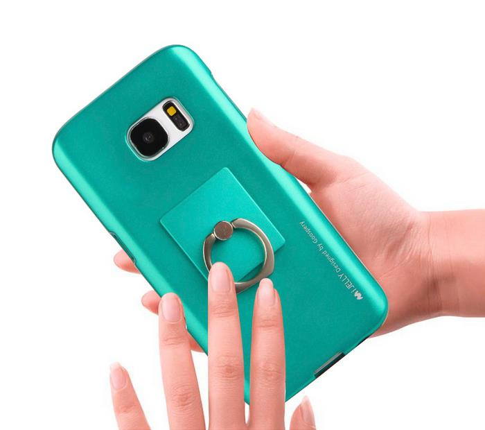Korea Goospery I-Jelly Ring Soft Case for Samsung J1 ACE/J3(2016)J5/J7
