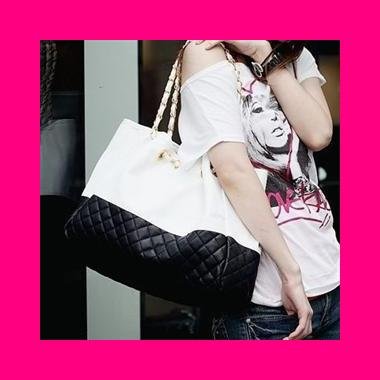 Korea Hottest Lady Trendy Fashion Shoulder Bag / Tote Bag