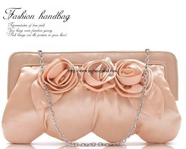 Korea Japan Cosmetic Shoulder Glossy Satchel Evening Bag 2694
