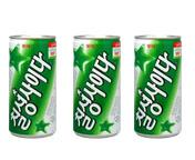 KOREA LOTTE CHILSUNG CIDER DRINK 250ML (3CAN)