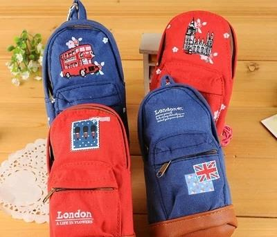Korea Style I Love London Fashion Cute Pencil Case / Mini Bag