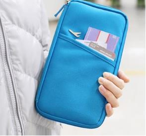 KOREA Travel Fashion ~ USEFUL BIG STORAGE TRAVEL/CARD/TICKET HOLDER