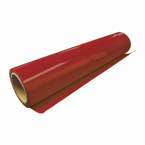 Korea Vinyl PU for Heat Press/Heat Transfer (Red) - 1 Meter