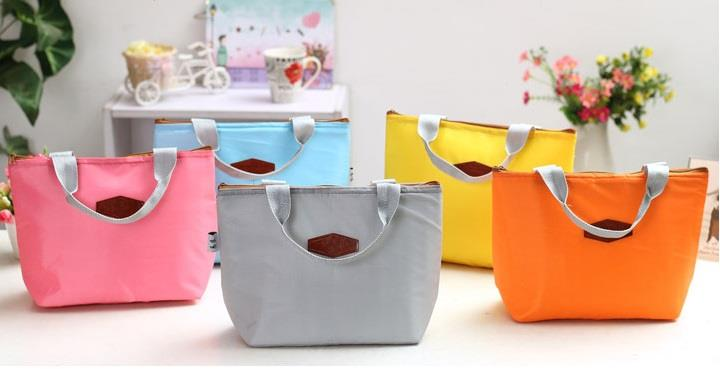 Korean Cooler Bag Lunch Pouch Insulation Pack New Milk Storage Food
