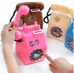 Korean~Cute Cartoon Old Phone Piggybank