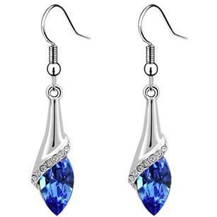 Korean Diamond Crystal Earrings