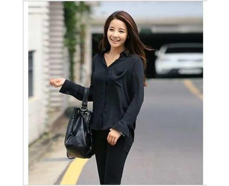 KOREAN FASHION -CRKD1488BLK