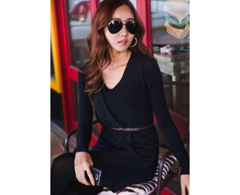 KOREAN FASHION - CRKD1721BLK