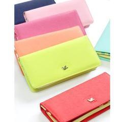 NEW KOREAN FASHION LADIES LONG SECTION SMARTPHONE WALLET FOR SALES