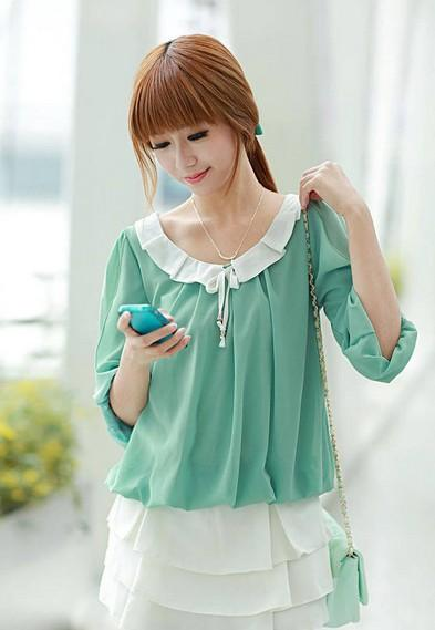 Korean Blouse Online Singapore Long Blouse With Pants