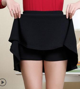 Korean High Waist Short Skirt Mini Skinny Thin Look A Umbrella Shape