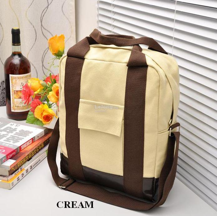 Korean Institute Multifunctional Canvas Shoulder Bag