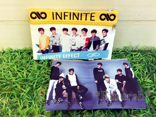 Korean KPOP Infinite Pencil Case P2