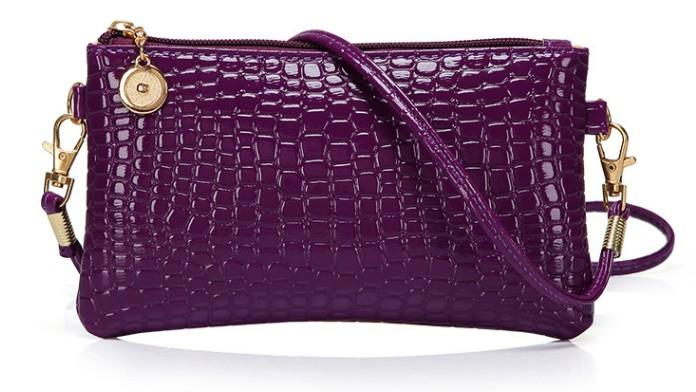 Korean Leather Casual Sling Bag GPSP-364 PURPLE