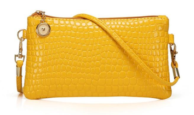 Korean Leather Casual Sling Bag GPSP-364 YELLOW
