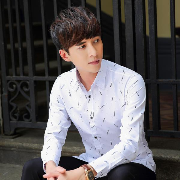 Korean Men Exclusive Shirt Very Elegan