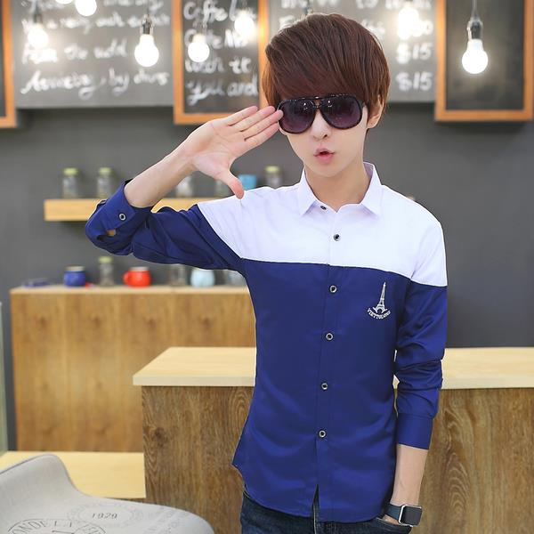 Korean Men Smart Shirt