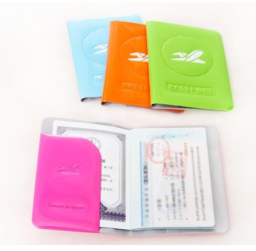 Korean Passport Holder Candy Colourful Multifunction Travel Card New