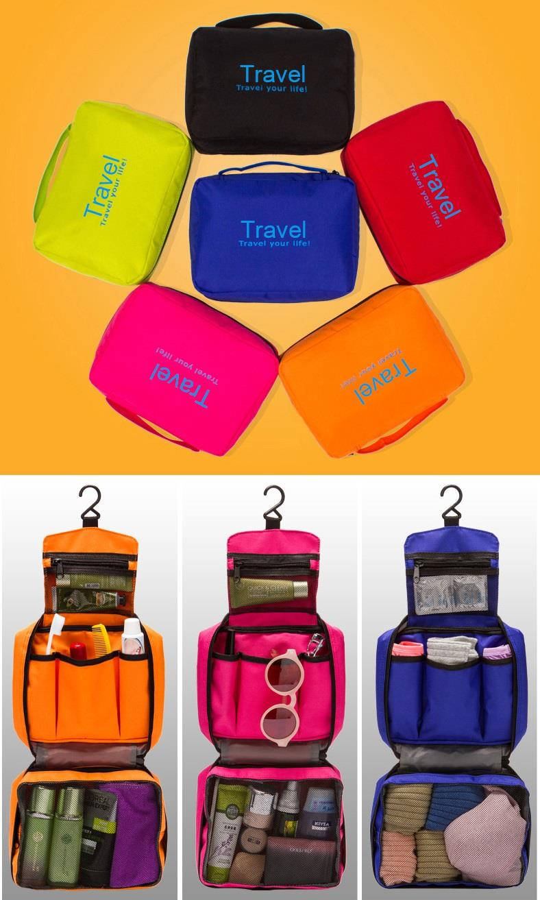 Korean Portable Cosmetic Toiletry Pouch Bag New Organizer Storage