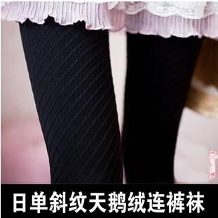 Korean Show Slim Tilted Trace Pantyhose