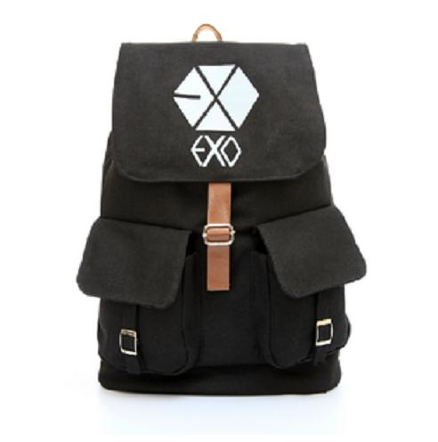Korean Star EXO Fashion School Bag / Backpack