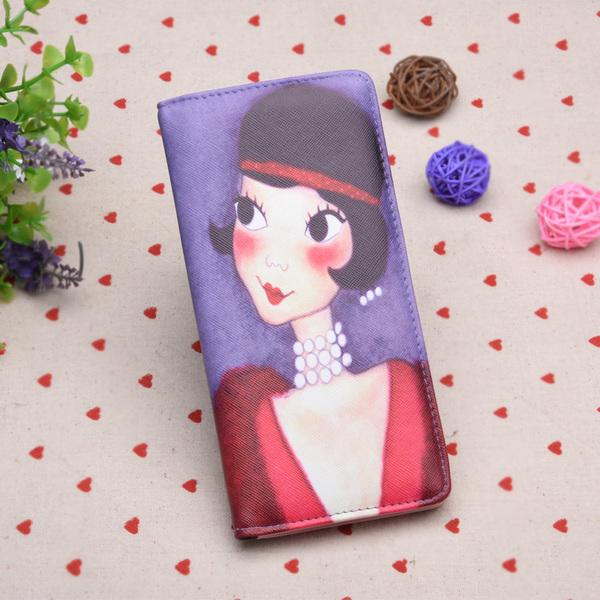 Korean style long wallet - gorgeous is my style