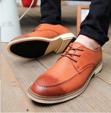 Korean Style Mixed Color Men Boat Shoes