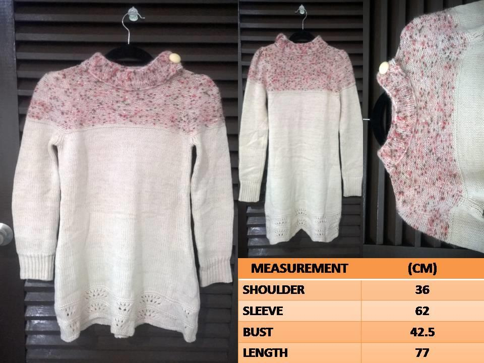 Korean Style Sweater Dress Innocent & Sweet