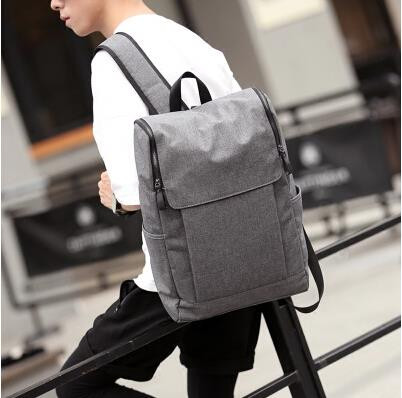 The new Korean version of the male canvas travel backpack