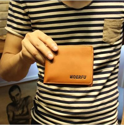Korean version of personality the new metrosexual short style wallet