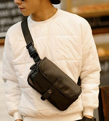 Korean version of the new trend of all-match leisure male waist bag