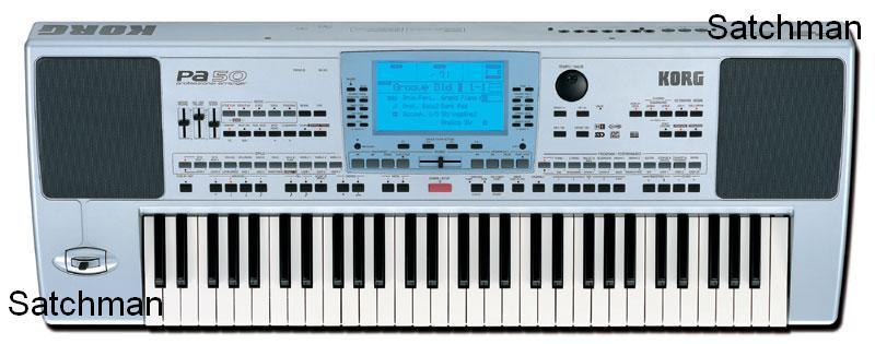 KORG PA50 (SD) Keyboard Arranger (NEW) - FREE SHIPPING